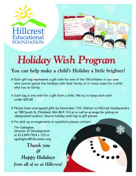 Hilcrest Educational Holiday Program